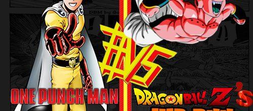 One Punch Man #VS Majin Buu