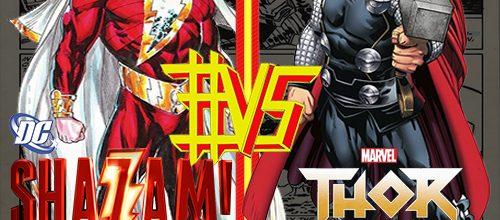 Thor #VS Shazam