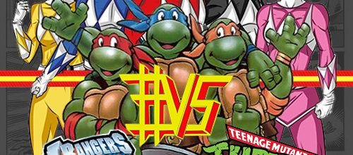 Power Rangers #VS Ninja Turtles