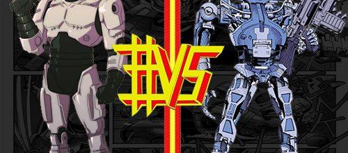 RoboCop #VS Terminator