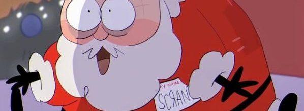 Here Comes Scranta Claus!