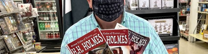H.H. Holmes: Release Day!